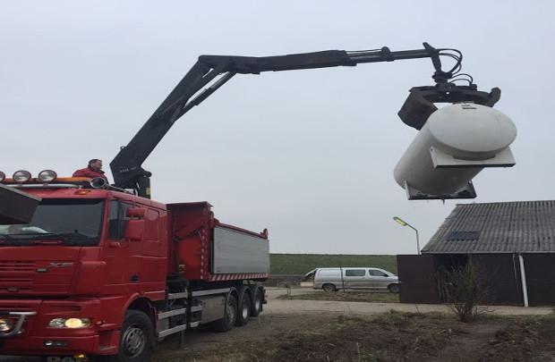 saneren dieseltank